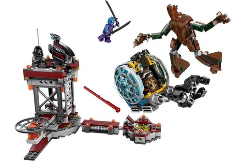 Guardians of the Galaxy 바탕화면 entitled LEGO Guardians of the Galaxy 미리 보기