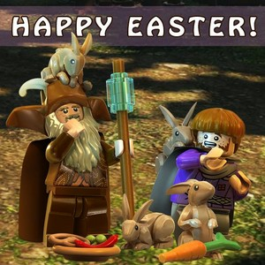 LEGO The Hobbit: HAPPY EASTER!