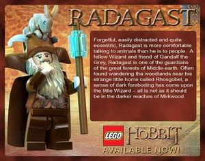 LEGO The Hobbit: Radagast The Brown