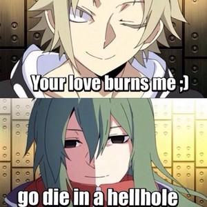 哈哈 BURN!!