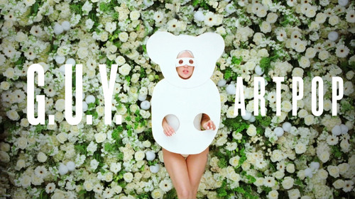 lady gaga wallpaper possibly with a picket fence titled Lady GaGa G.U.Y