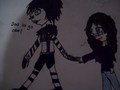 LaughingJackXMe - creepypasta fan art