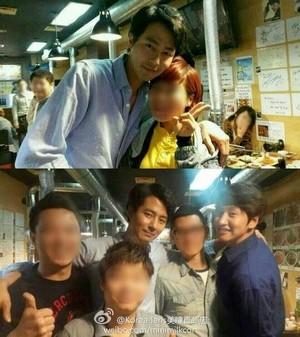 Lee Kwang Soo with Jo In Sung