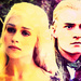 Legolas/Daenerys - lord-of-the-rings icon
