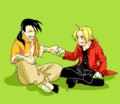 Ling Yao and Edward Elric - full-metal-alchemist fan art
