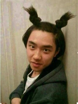 Little girl Kyungsoo