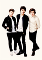 Louis, Zayn and Harry        - one-direction photo