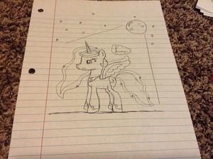 Luna drawing Von me :)