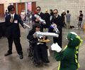 MIBs capture Alien beast at Kawaii Kon! - men-in-black photo