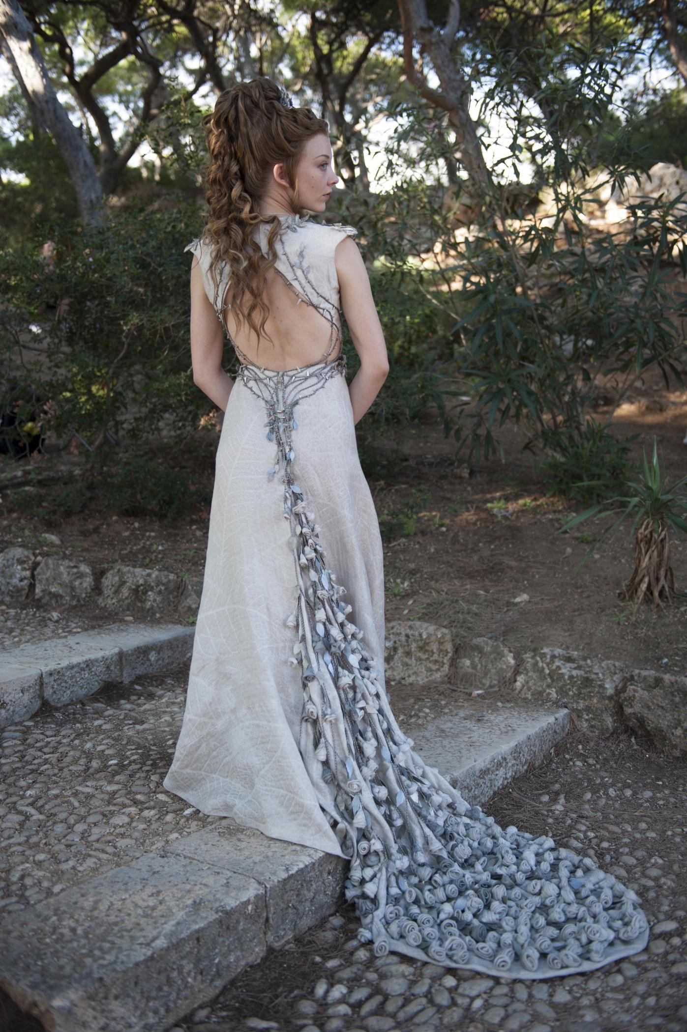 Natalie Dormer 'Game Of Thrones' Season 3 Premiere 2 Two ... |Natalie Dormer Game Of Thrones Dress