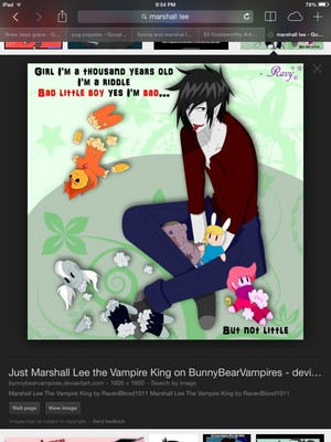 Marshall Lee -Bad little boy-