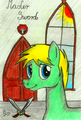 Master Sword portrait - Gift for Windwakerguy430 - my-little-pony-friendship-is-magic fan art