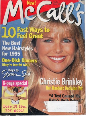 McCall's magazine, January 1995