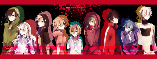 Mekaku City Actors wallpaper titled Mekaku City Actors