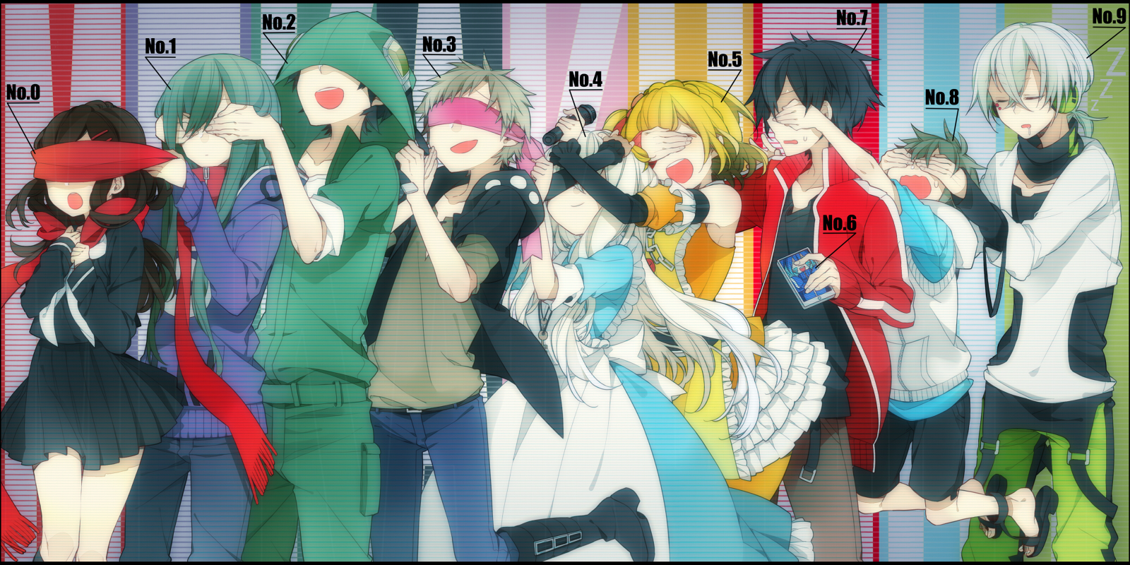 Mekakushi Dan - Kagerou Project Wallpaper (36996268) - Fanpop - Page 2