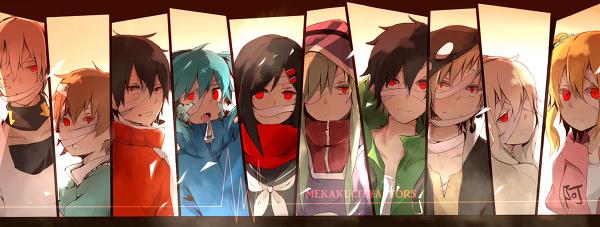 Who loves anime!!!!  Mekakushi-Dan-mekaku-city-actors-36935573-600-227