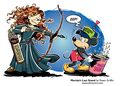 Merida Makeover Response - disney-princess photo