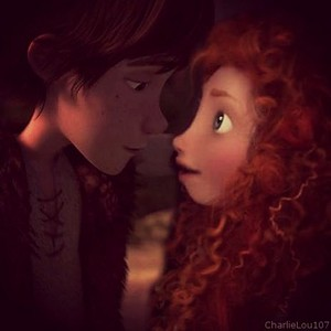 Merida and Hiccup <3