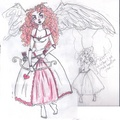 Merida as Cupid  - disney-princess photo