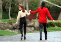 Michael And First Wife, Lisa Marie Presley At Neverland  - michael-jackson photo