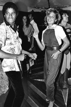 Michael Dancing With Tatum O'Neal