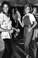 Michael Dancing With Tatum O'Neal - michael-jackson photo