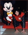 Michael Jackson And Mickey Mouse - disney photo