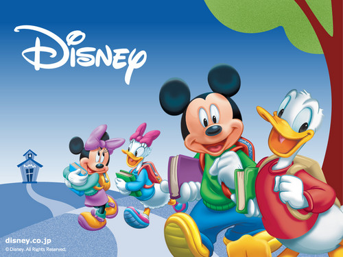 Disney wallpaper with Anime called Mikey and Friends