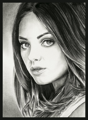 Mila Kunis drawing 由 Jenny Jenkins