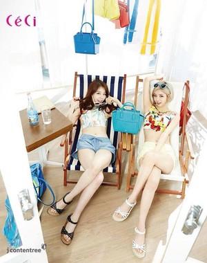 Minah and Hyeri