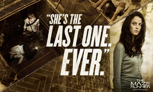 The Maze Runner 바탕화면 with 아니메 called Movie Quote