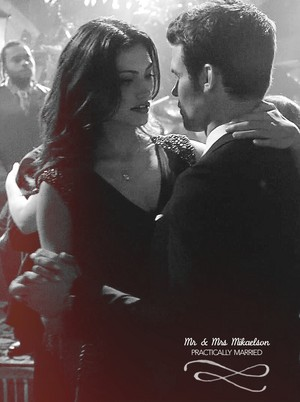 Mr and Mrs Mikaelson
