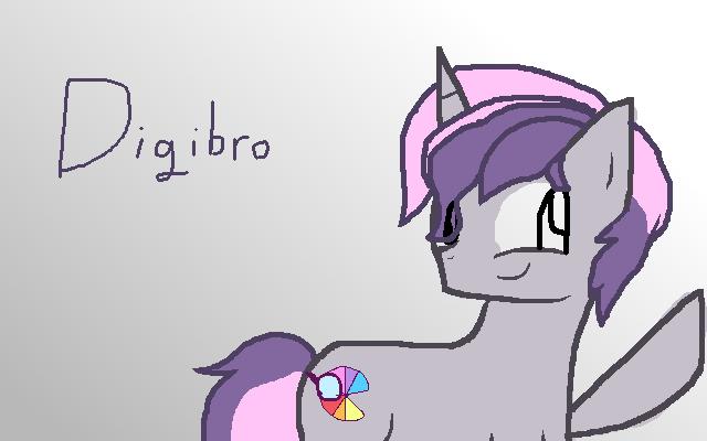 My Gimp Drawings: Digibro