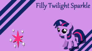 My Little pony Filly wallpaper