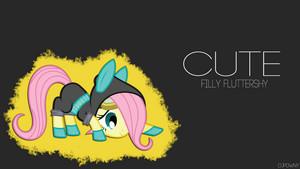 My Little pony Filly achtergrond