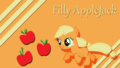 My Little poni, pony Filly fondo de pantalla