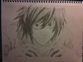 My drawing of L - death-note photo