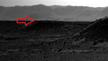 Mysterious bright light on Mars
