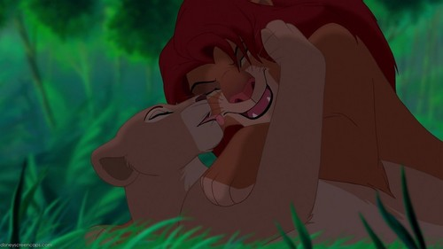 o rei leão wallpaper called Nala and Simba amor <3333