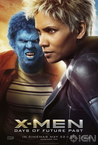 X-Men: Days of Future Past 바탕화면 possibly with a portrait titled New Character Posters