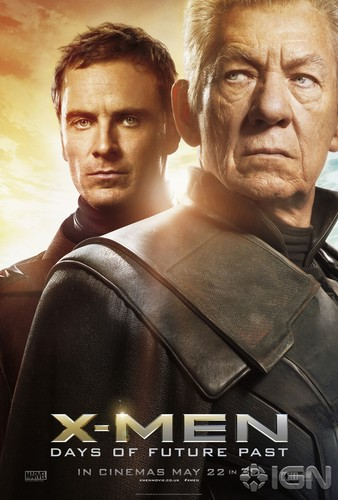 X-Men: Days of Future Past 바탕화면 entitled New Character Posters