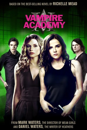 New Vampire Academy DVD cover