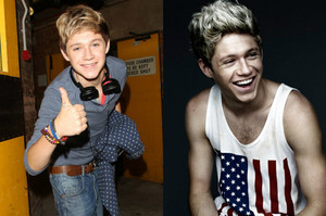 Niall - Before and After ❤