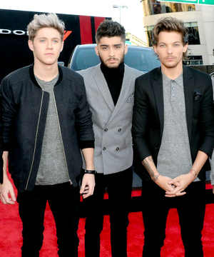 Niall, Zayn and Louis