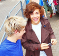 Niall and Harry  - harry-styles photo