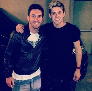 Niall and Messi