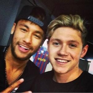 Niall and Neymar