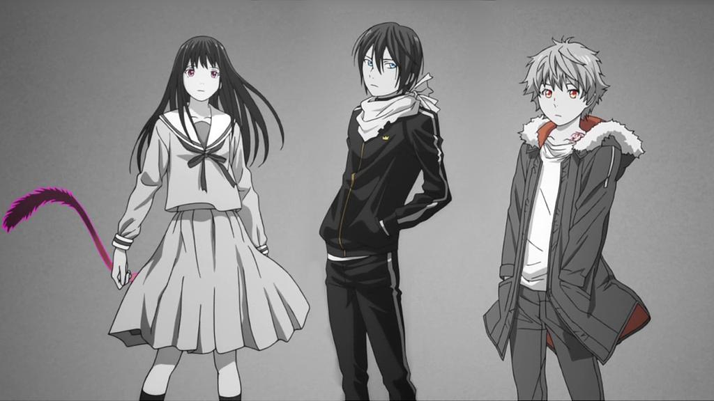 노라가미 (Yukine, Yato and Hiyori)