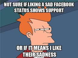 Not sure if - Sadness