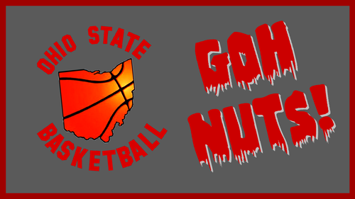 Ohio State universidad baloncesto fondo de pantalla probably with anime titled OHIO STATE BASKETBALL; GOH NUTS